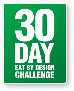eat by design challenge